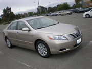 2007 Toyota Camry Hybrid, Leather, Navigation, Moonroof, Clean.